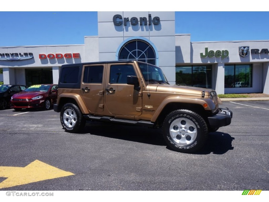 2015 Copper Brown Pearl Jeep Wrangler Unlimited Sahara 4x4 ... - photo#21