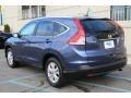 2014 Twilight Blue Metallic Honda CR-V EX-L AWD  photo #7