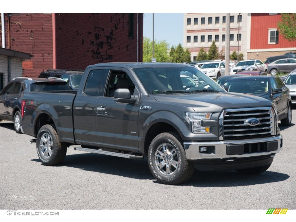 2015 Magnetic Metallic Ford F150 XLT SuperCab 4x4 103937752