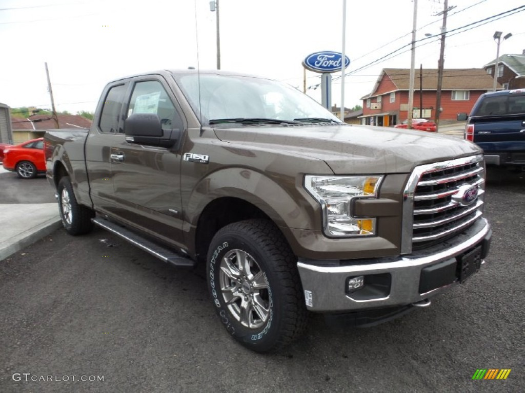 Caribou Metallic 2015 Ford F150 Xlt Supercab 4x4 Exterior