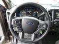 Medium Earth Gray Steering Wheel Photo for 2015 Ford F150 #103965702