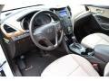 Beige Prime Interior Photo for 2013 Hyundai Santa Fe #103969644