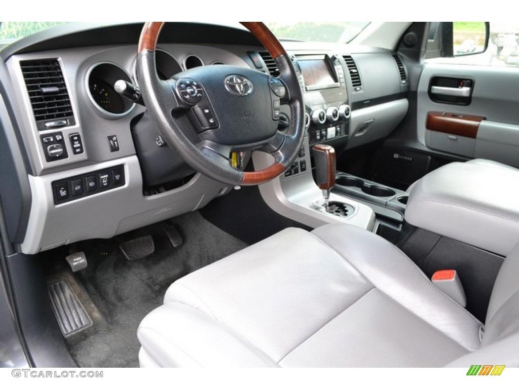 2012 Toyota Sequoia Platinum 4wd Interior Photos