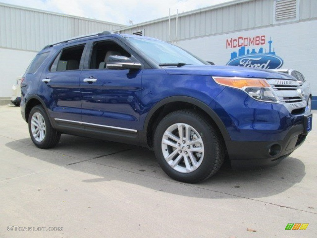 2015 deep impact blue ford explorer xlt 103975597 car color galleries. Black Bedroom Furniture Sets. Home Design Ideas