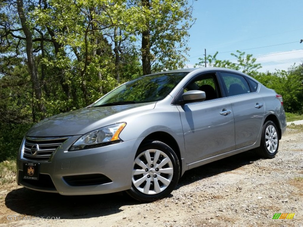 2014 magnetic gray nissan sentra sv 103975950 car color galleries. Black Bedroom Furniture Sets. Home Design Ideas