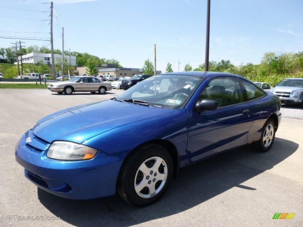 Arrival Blue Metallic 2003 Chevrolet Cavalier LS Coupe Exterior Photo #103996132