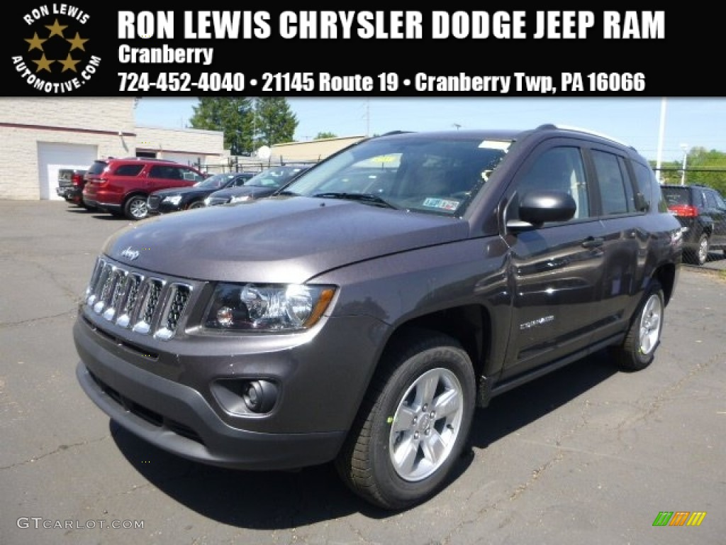 2015 Granite Crystal Metallic Jeep Compass Sport ...