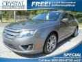 Sterling Grey Metallic 2011 Ford Fusion SEL V6