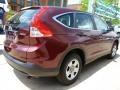 2012 Basque Red Pearl II Honda CR-V LX 4WD  photo #13