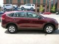 2012 Basque Red Pearl II Honda CR-V LX 4WD  photo #14