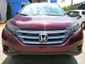 2012 Basque Red Pearl II Honda CR-V LX 4WD  photo #19