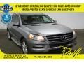 Palladium Silver Metallic 2012 Mercedes-Benz ML 350 BlueTEC 4Matic