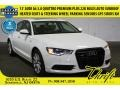 Glacier White Metallic 2013 Audi A6 3.0T quattro Sedan