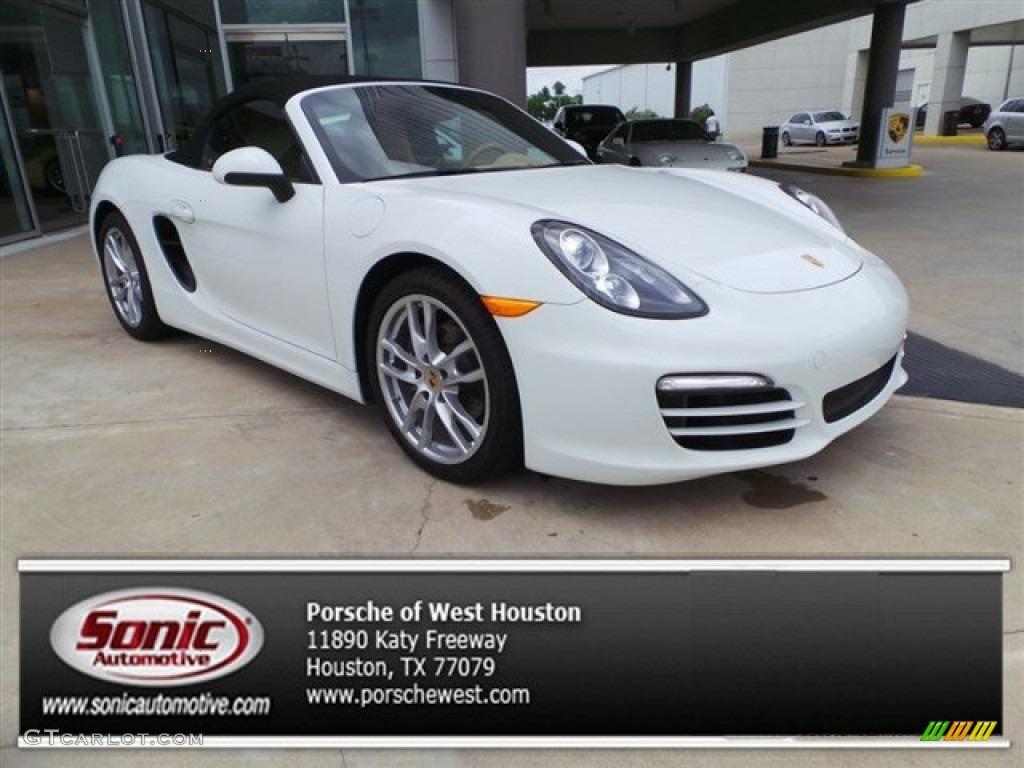 Porsche Boxster 2014 White 2014 White Porsche Box...