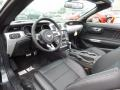 2015 Ford Mustang Ebony Interior Prime Interior Photo