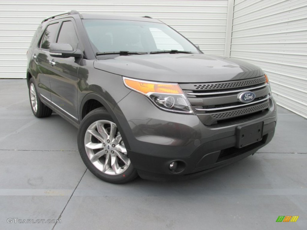 2015 Magnetic Ford Explorer Limited 104062046 Photo 2