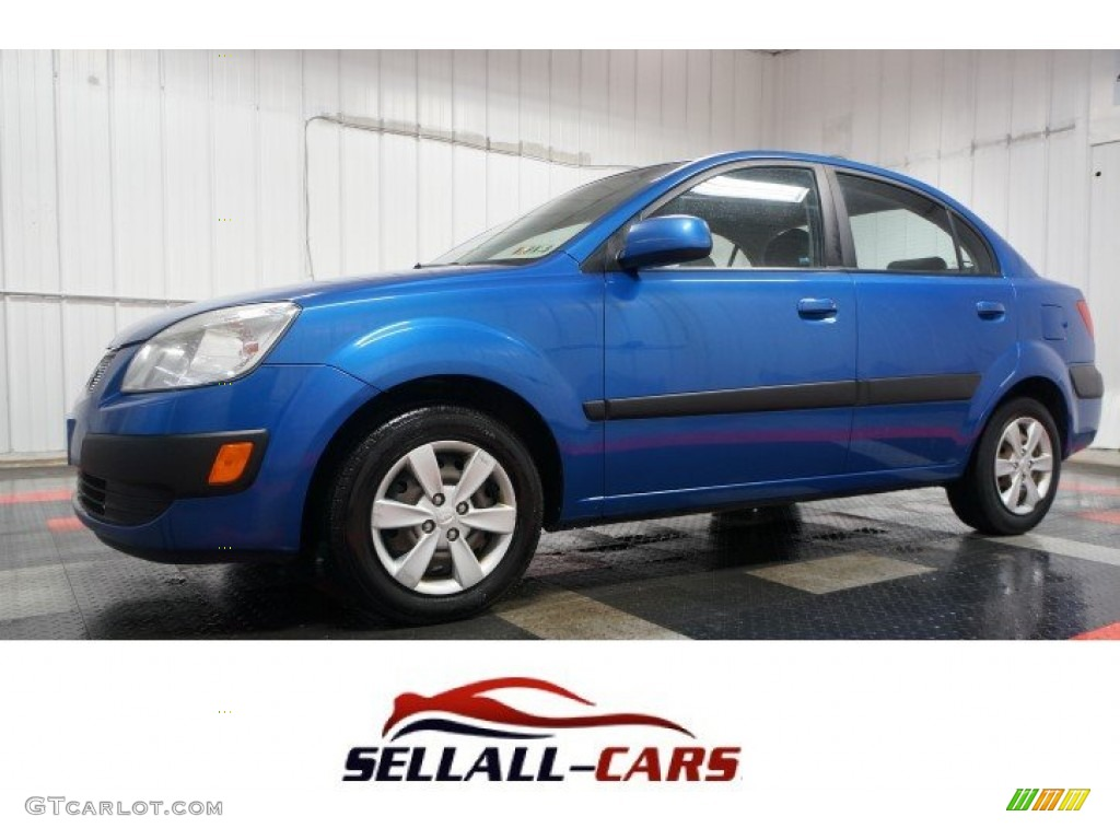 2009 sapphire blue kia rio lx sedan 104129684 photo 57 car color galleries. Black Bedroom Furniture Sets. Home Design Ideas