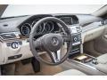 Silk Beige/Espresso Brown Dashboard Photo for 2016 Mercedes-Benz E #104161736