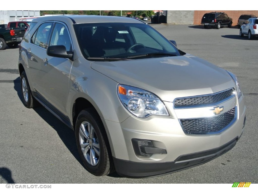 2015 champagne silver metallic chevrolet equinox ls. Black Bedroom Furniture Sets. Home Design Ideas