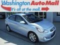 Clearwater Blue 2012 Hyundai Accent GLS 4 Door