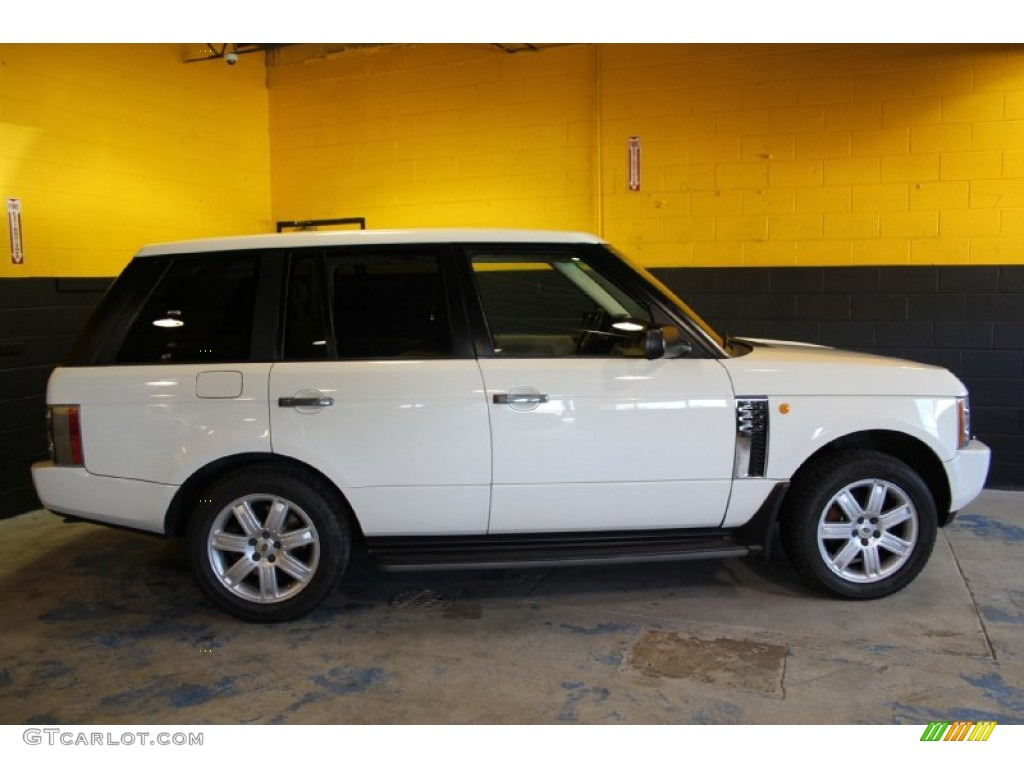 2004 Range Rover HSE - Chawton White / Ivory/Aspen photo #3