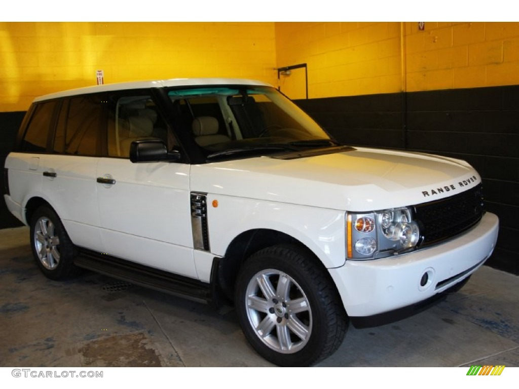 2004 Range Rover HSE - Chawton White / Ivory/Aspen photo #4