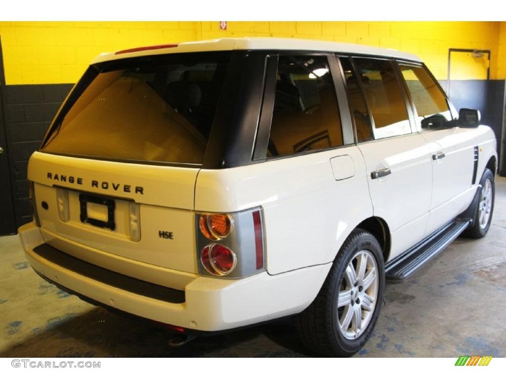 2004 Range Rover HSE - Chawton White / Ivory/Aspen photo #6