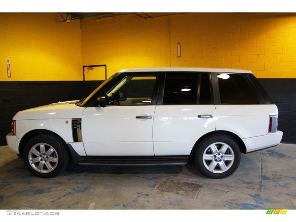 2004 Range Rover HSE - Chawton White / Ivory/Aspen photo #8