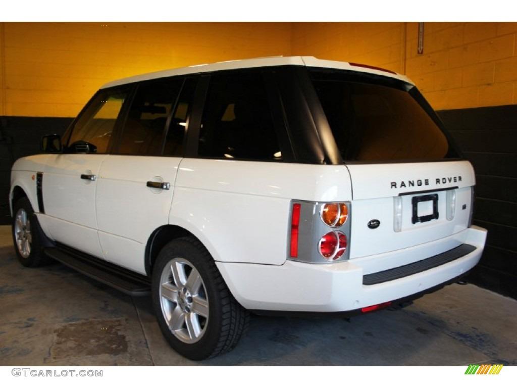 2004 Range Rover HSE - Chawton White / Ivory/Aspen photo #9