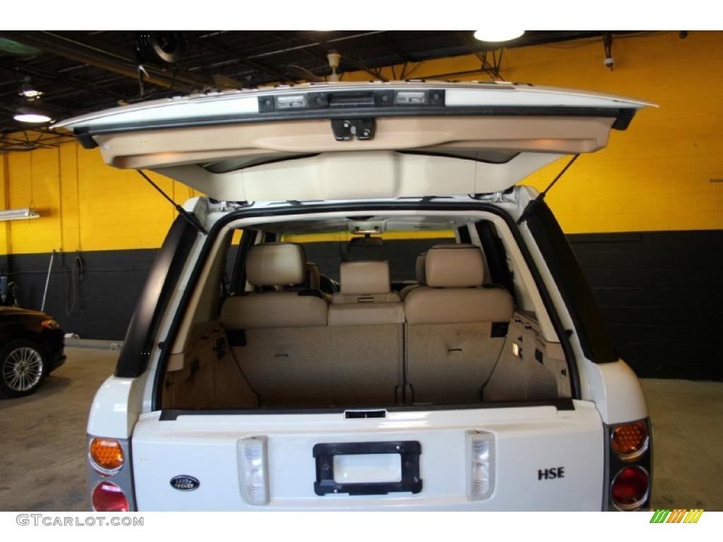 2004 Range Rover HSE - Chawton White / Ivory/Aspen photo #23