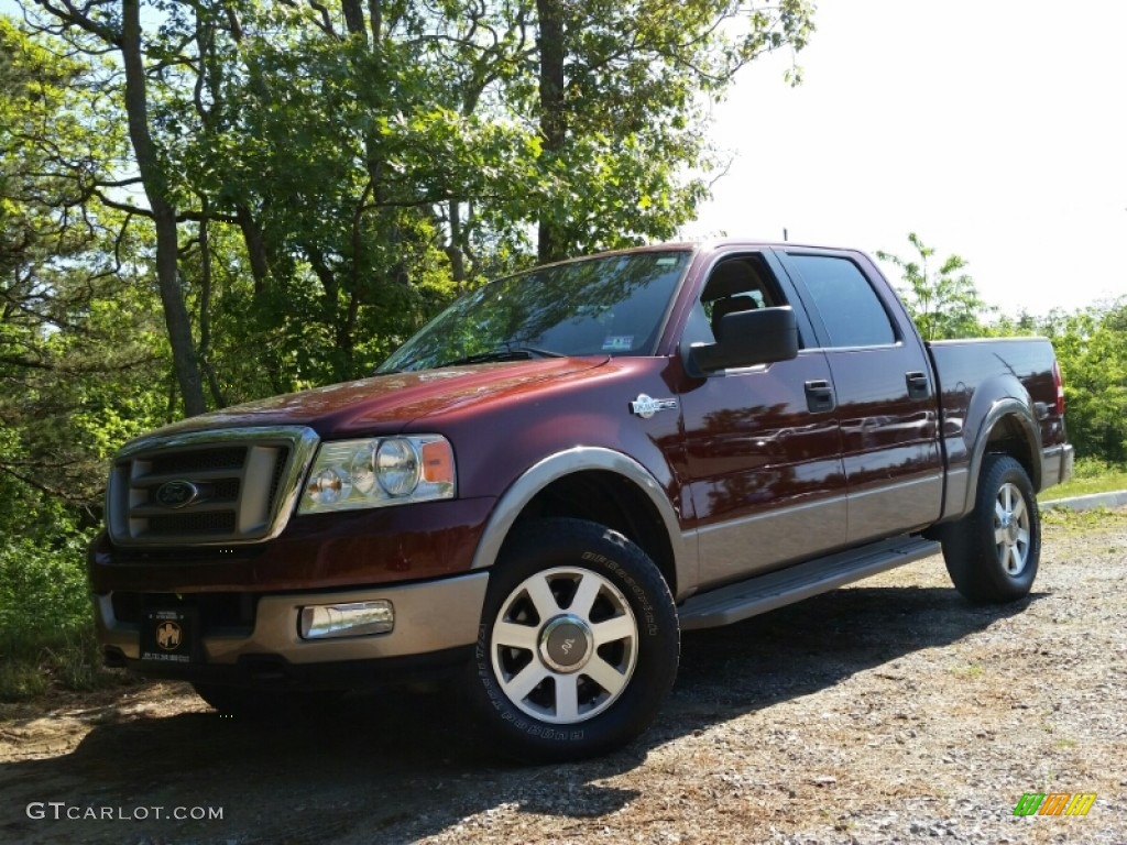 2005 dark copper metallic ford f150 king ranch supercrew 4x4 104161532 car. Black Bedroom Furniture Sets. Home Design Ideas
