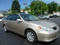 Beige 2005 Toyota Camry LE