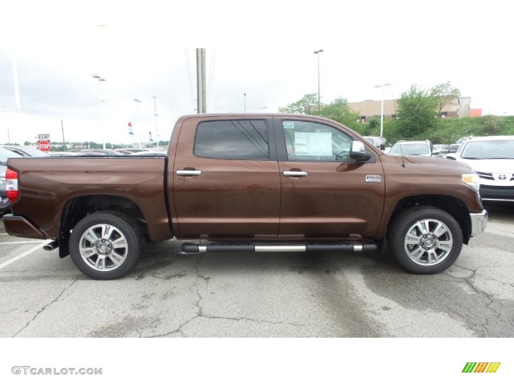 2015 sunset bronze mica toyota tundra 1794 edition crewmax. Black Bedroom Furniture Sets. Home Design Ideas