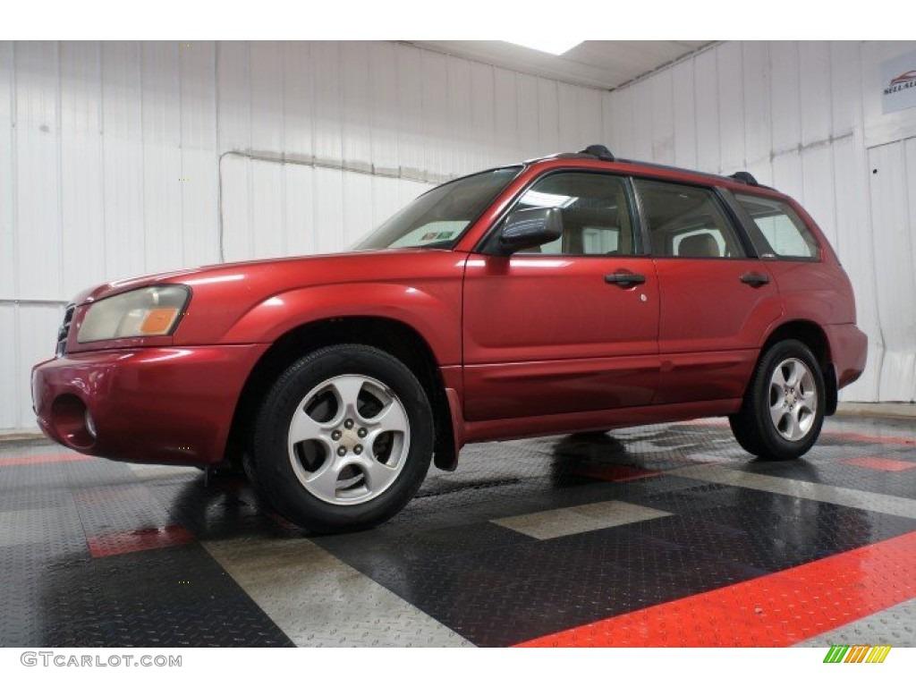 2003 Subaru Forester 2 5 Xs Exterior Photos
