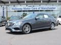 Steel Grey Metallic 2016 Mercedes-Benz E 350 4Matic Sedan