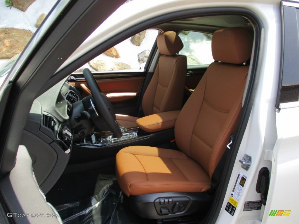 Saddle Brown Interior 2016 Bmw X4 Xdrive28i Photo