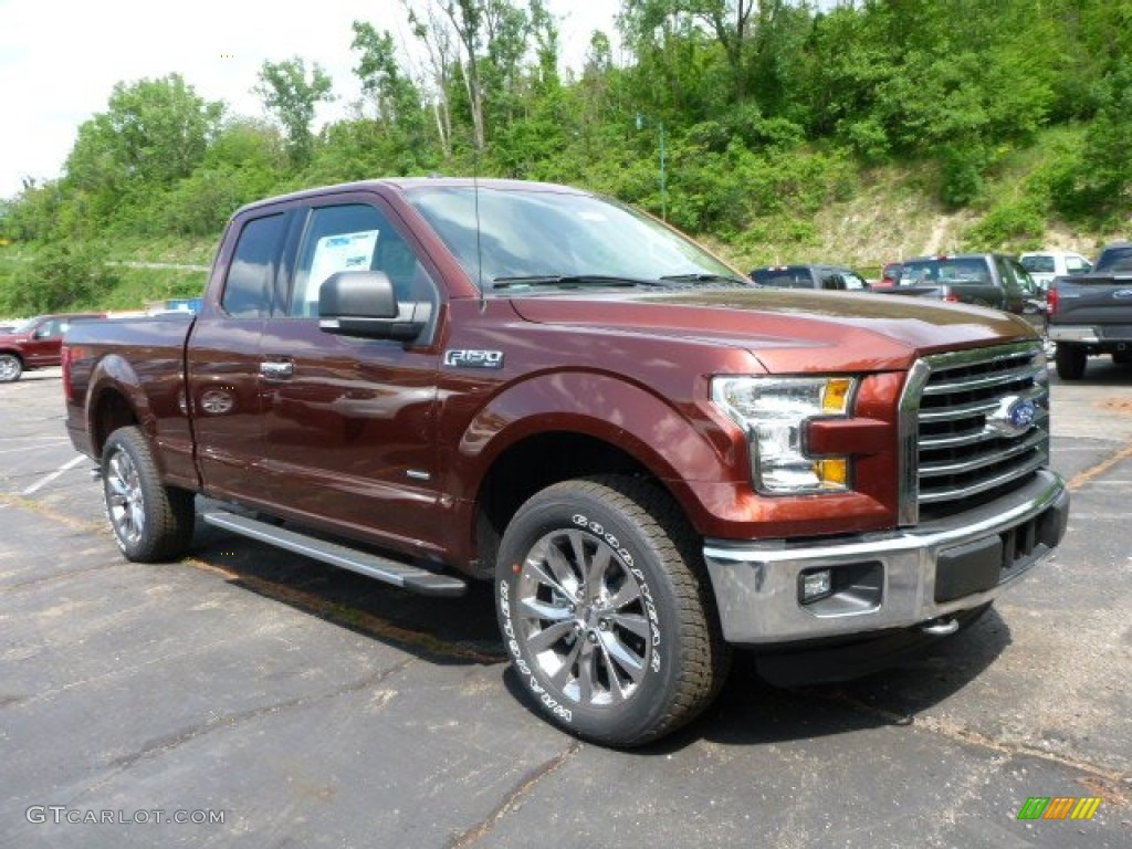 2015 Bronze Fire Metallic Ford F150 XLT SuperCab 4x4 104323218