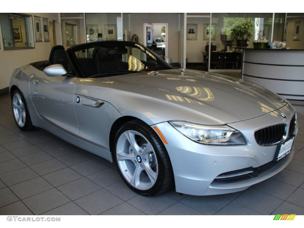 2015 Glacier Silver Metallic Bmw Z4 Sdrive28i 104323098 Gtcarlot Com Car Color Galleries