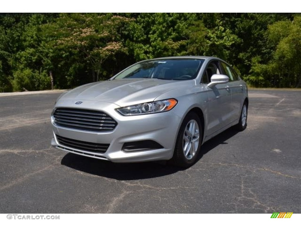 Charcoal Car Color >> 2016 Ingot Silver Metallic Ford Fusion SE #104381581 | GTCarLot.com - Car Color Galleries