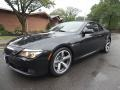 Jet Black 2008 BMW 6 Series 650i Convertible