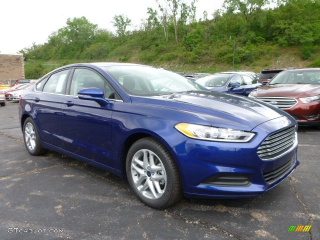 Deep Impact Blue Metallic Ford Fusion