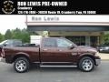 Western Brown Pearl 2013 Ram 1500 Laramie Quad Cab 4x4