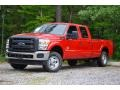 Vermillion Red 2013 Ford F250 Super Duty Gallery