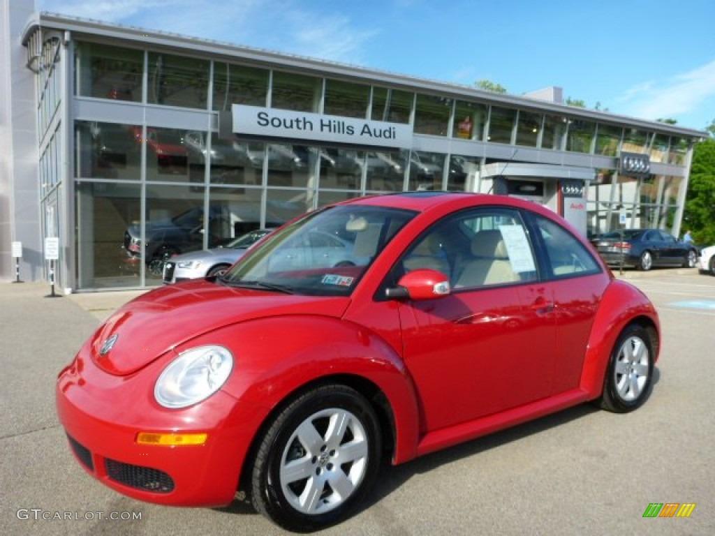 2007 salsa red volkswagen new beetle 2 5 coupe 104439879 photo 10 car color. Black Bedroom Furniture Sets. Home Design Ideas