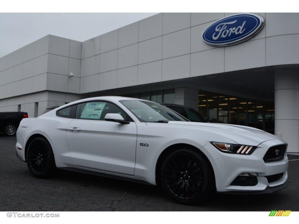 2017 Oxford White Ford Mustang Gt Premium Coupe 104439867