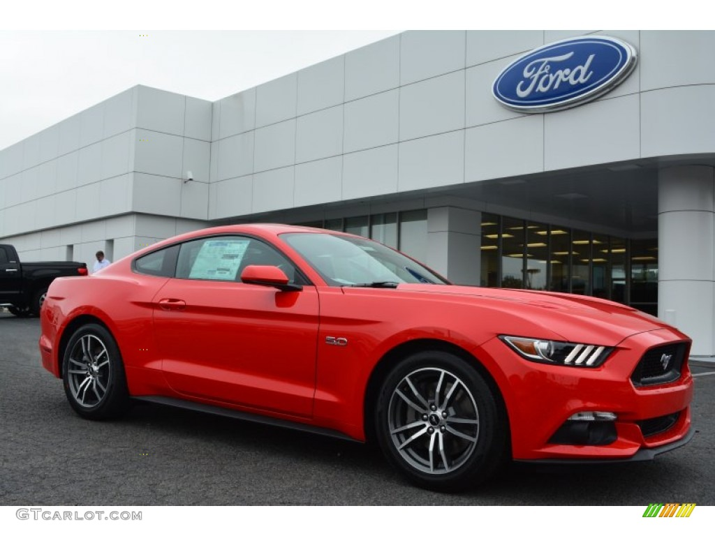 2015 Race Red Ford Mustang Gt Coupe 104439866 Car Color Galleries