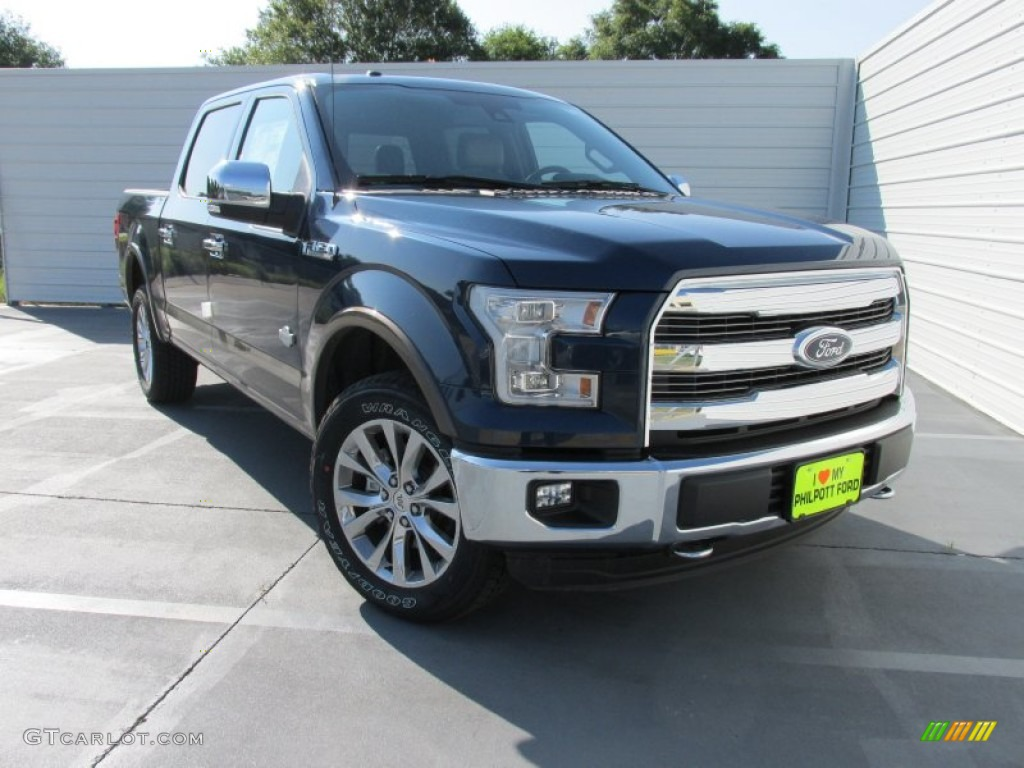 2015 blue jeans metallic ford f150 king ranch supercrew 4x4 104439945 photo 2. Black Bedroom Furniture Sets. Home Design Ideas