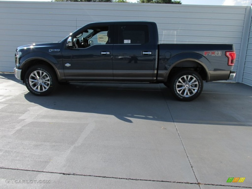 2015 blue jeans metallic ford f150 king ranch supercrew 4x4 104439945 photo 6. Black Bedroom Furniture Sets. Home Design Ideas