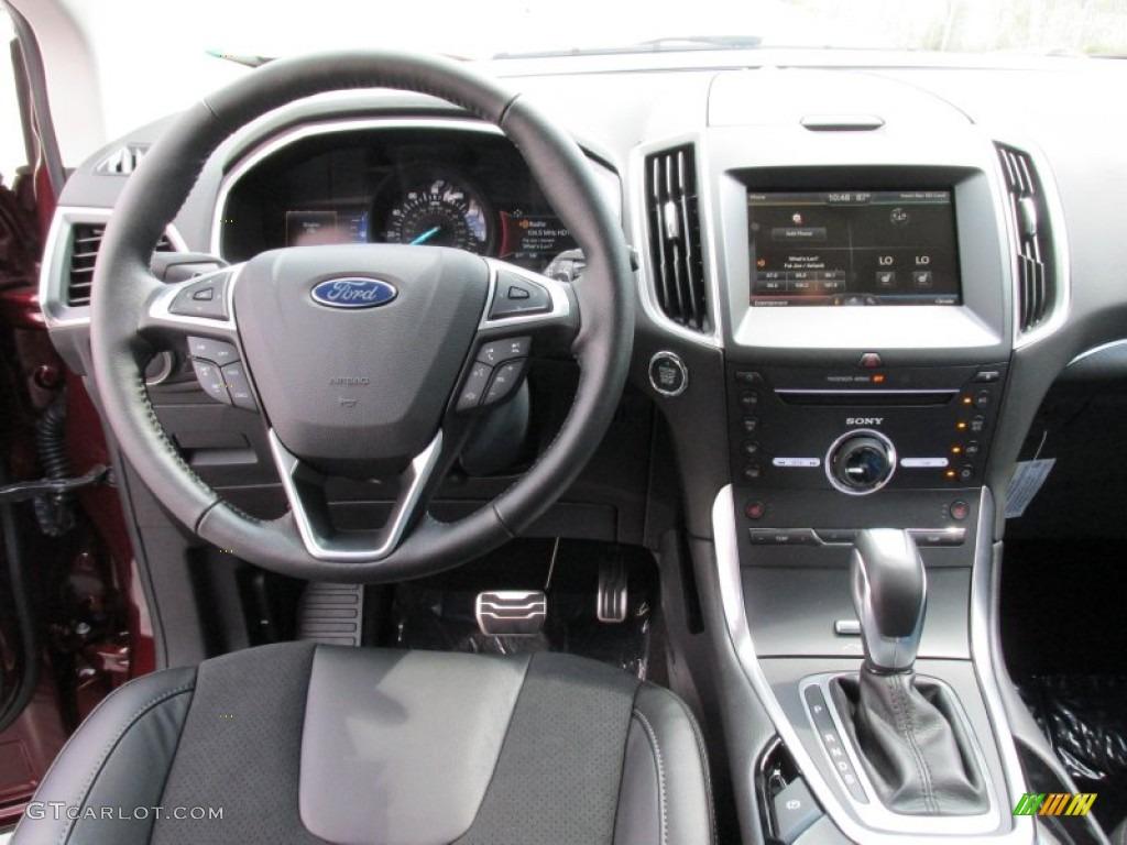 2015 ford edge sport bronze fire metallic color ebony interior 2015