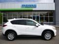 2014 Crystal White Pearl Mica Mazda CX-5 Touring AWD #104481124